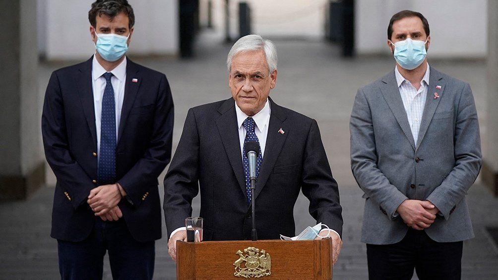 Sebastián Piñera decreta Estado de Excepción Constitucional.