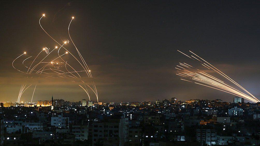 Israel desplegó una ofensiva.