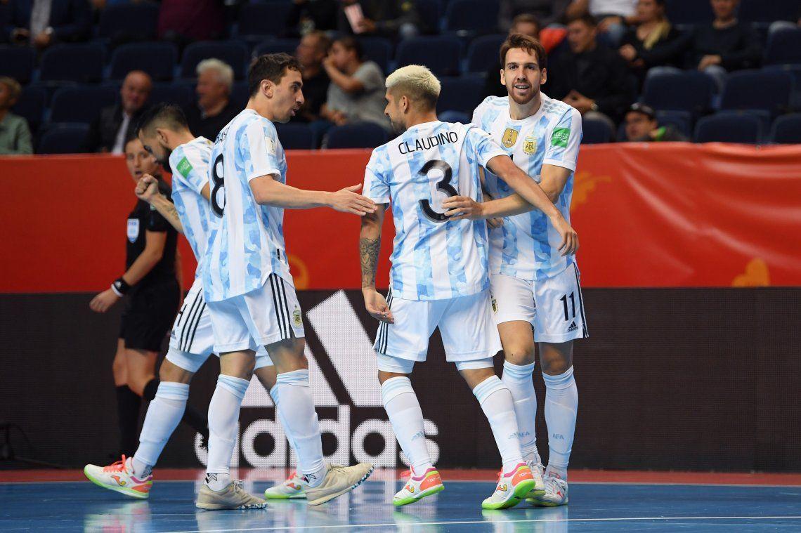 Argentina se enfrenta a Serbia en la segunda fecha del Mundial de futsal