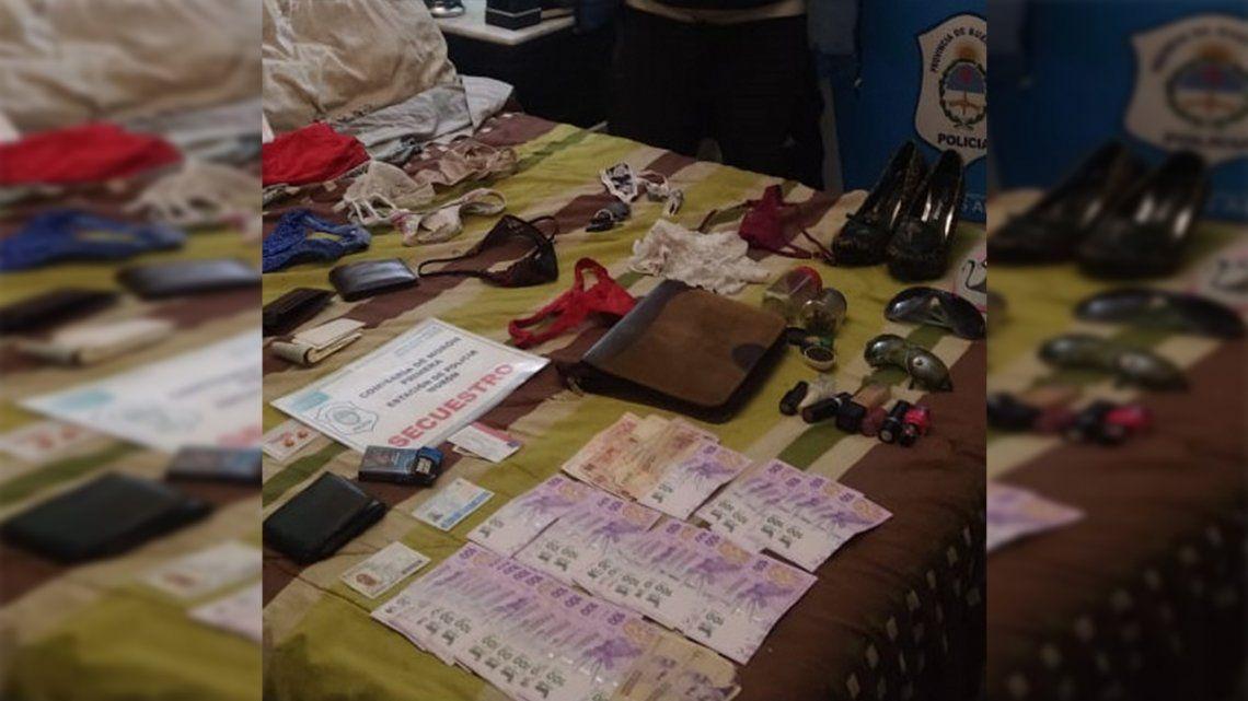 La organización delictiva estaba dedicada a la comercialización de estupefacientes en asentamientos y barrios de la zona Oeste.