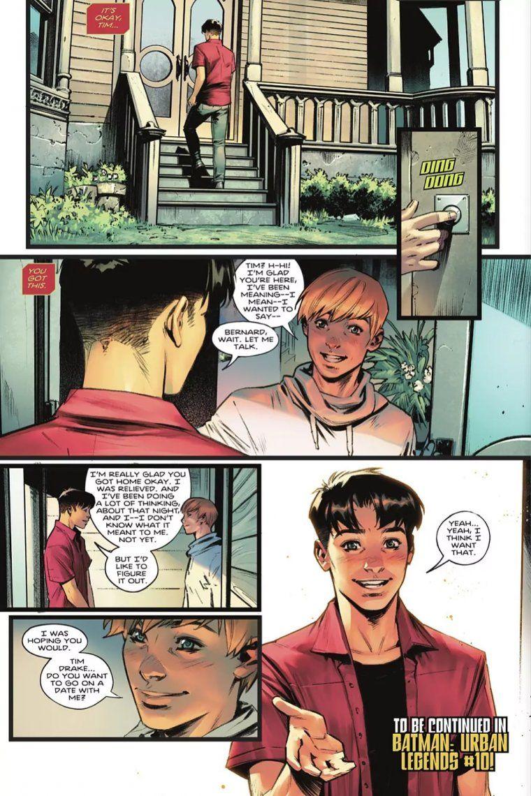 DC Comics: una versión de Robin, el famoso acompañante de Batman, se presenta como bisexual