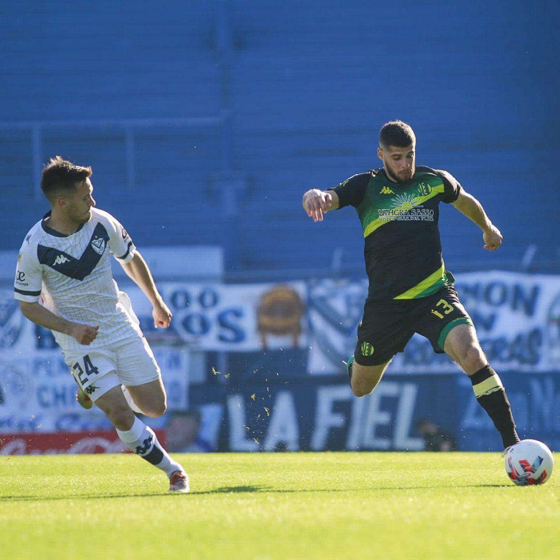 Aldosivi mejoró ante Vélez y ante el Lobo buscará los tres puntos