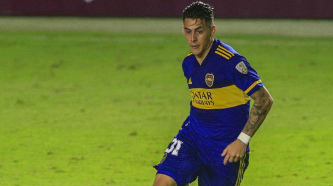 Cristian Pavón volvería a la titularidad en Boca