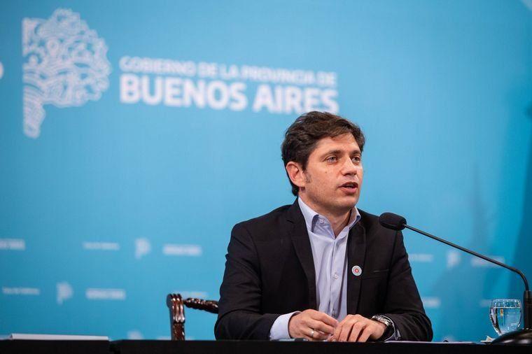 Kicillof anunció medidas y criticó a Larreta.