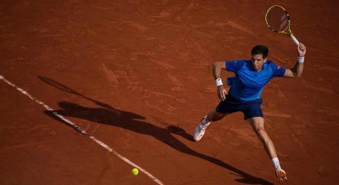 Delbonis perdió y quedó fuera del Roland Garros.