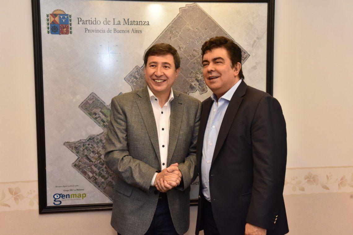 La Matanza: Fernando Espinoza y Daniel Arroyo delinearon medidas frente a la emergencia social y económica