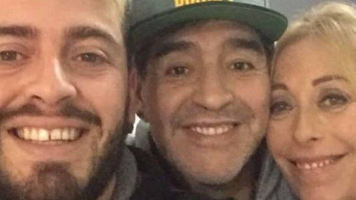 La madre de Diego Jr a Morla: No hay escapatoria al karma
