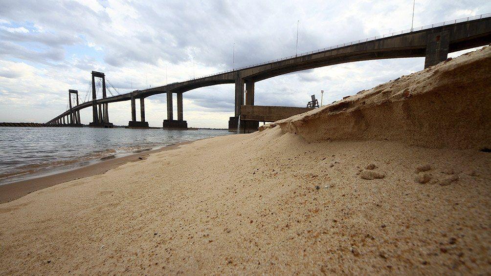 El río Paraná se acerca al nivel más bajo de la historia