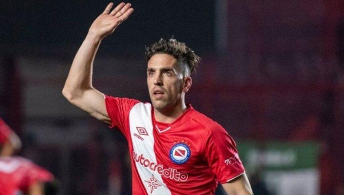 Gabriel Hauche se despide de Argentinos Juniors. ¿Se suma a Aldosivi?