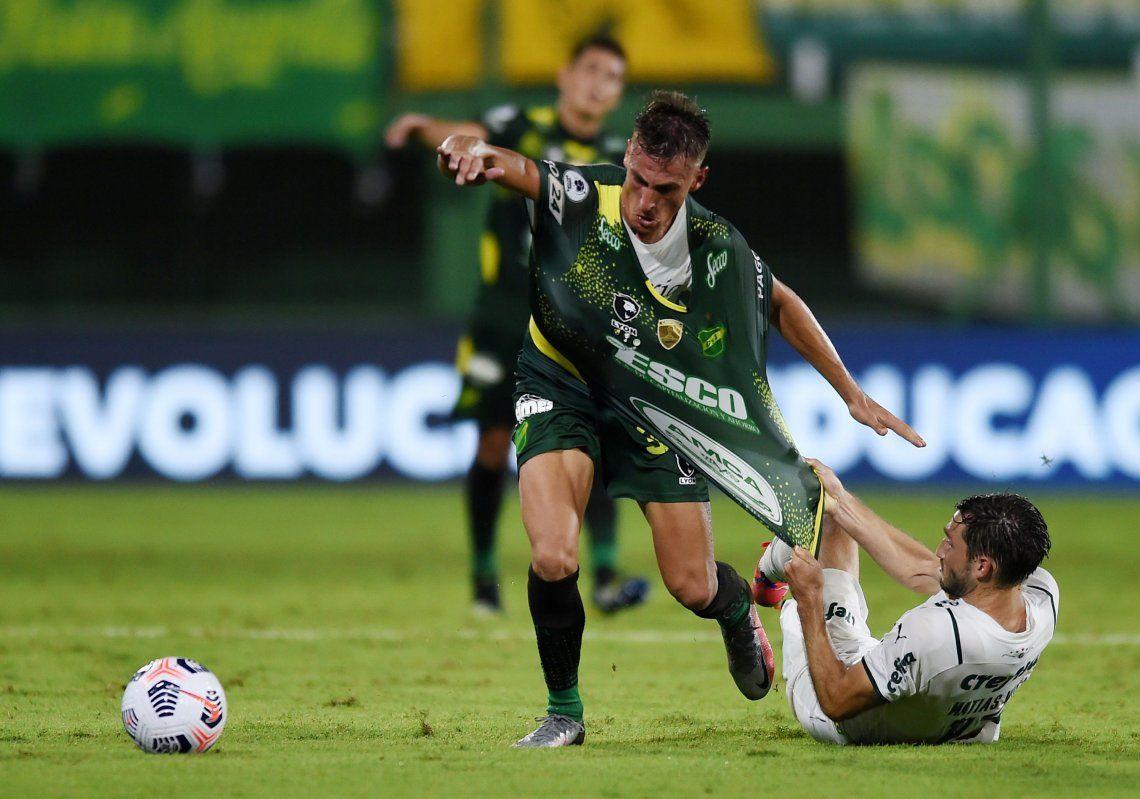 Defensa y Justicia, golpeado por el Covid, recibe a Palmeiras por la Copa Libertadores