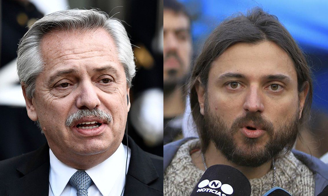 Juan Grabois nuevamente le pasó factura al presidente Alberto Fernández.