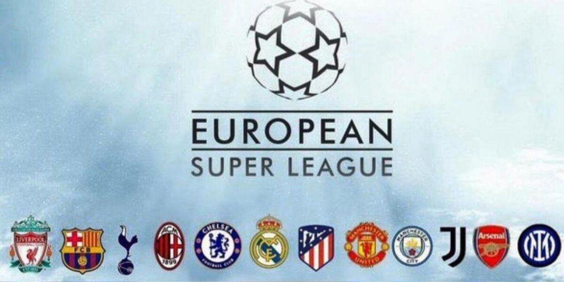 Los principales clubes europeos anunciaron la nueva Superliga