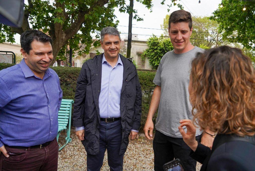 Jorge Macri en Moreno respaldó a los candidatos de Juntos