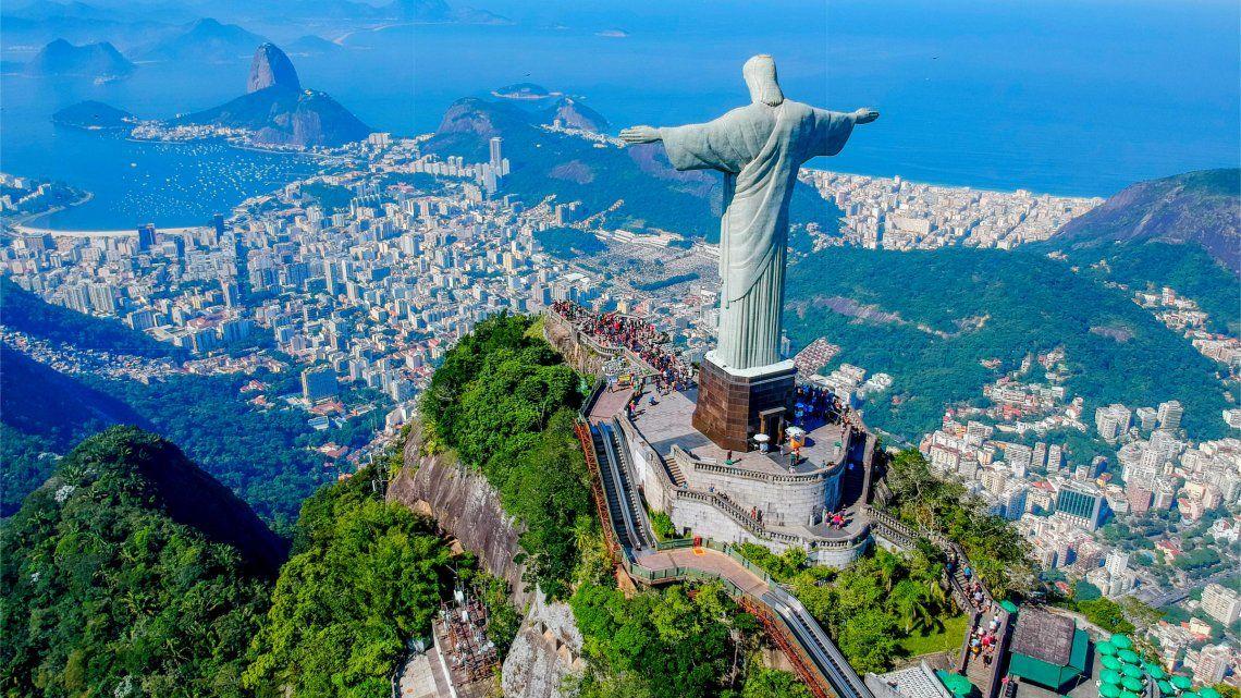 El Cristo Redentor es un emblema de Rio de Janeiro.