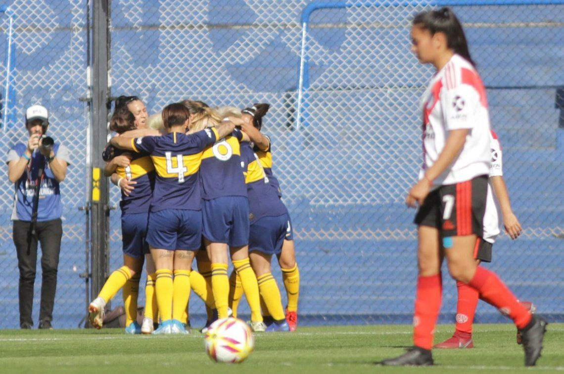 Las Gladiadoras de Boca bailaron a River y le ganaron 5 a 0 en la primera fecha del Torneo Femenino de Primera División A