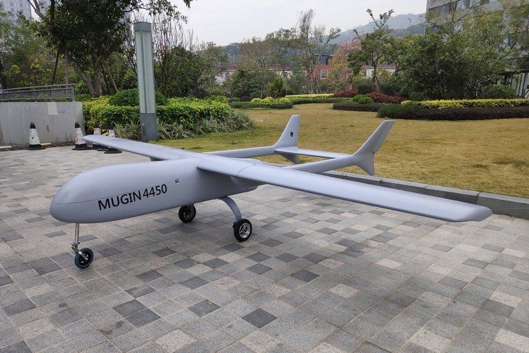 España: la Policía capturó este dron.