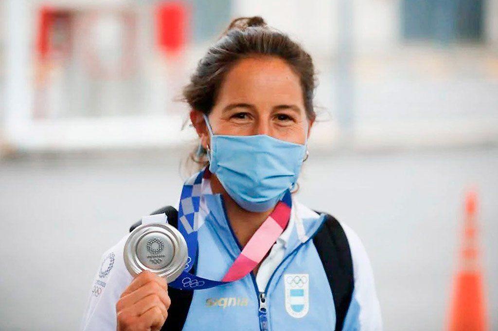Sofía Maccari denunció que le robaron la medalla de plata que obtuvo en Tokio.
