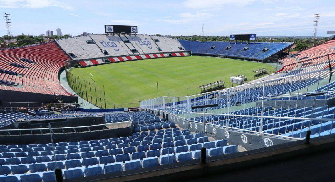 Paraguay hará de local en el estadio Defensores del Chaco.