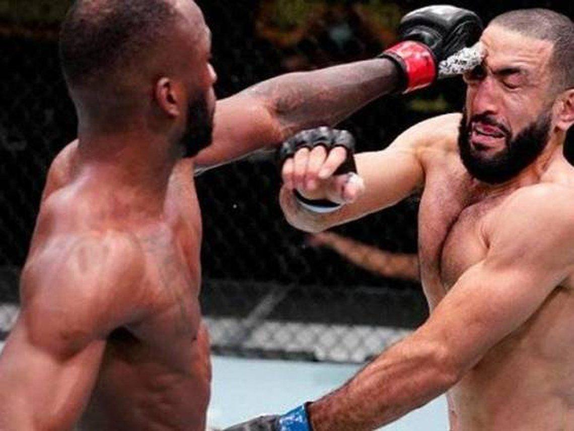 Piquete de ojos: polémica en la UFC y en las redes.