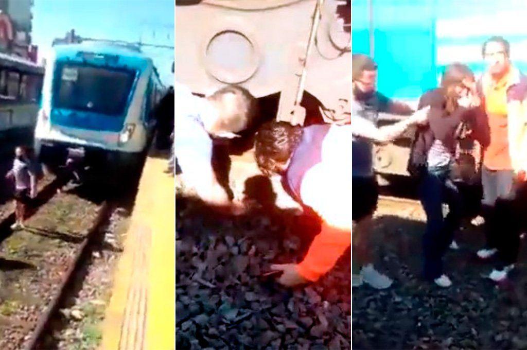 Se quiso suicidar al paso del Tren Roca y la rescataron con vida