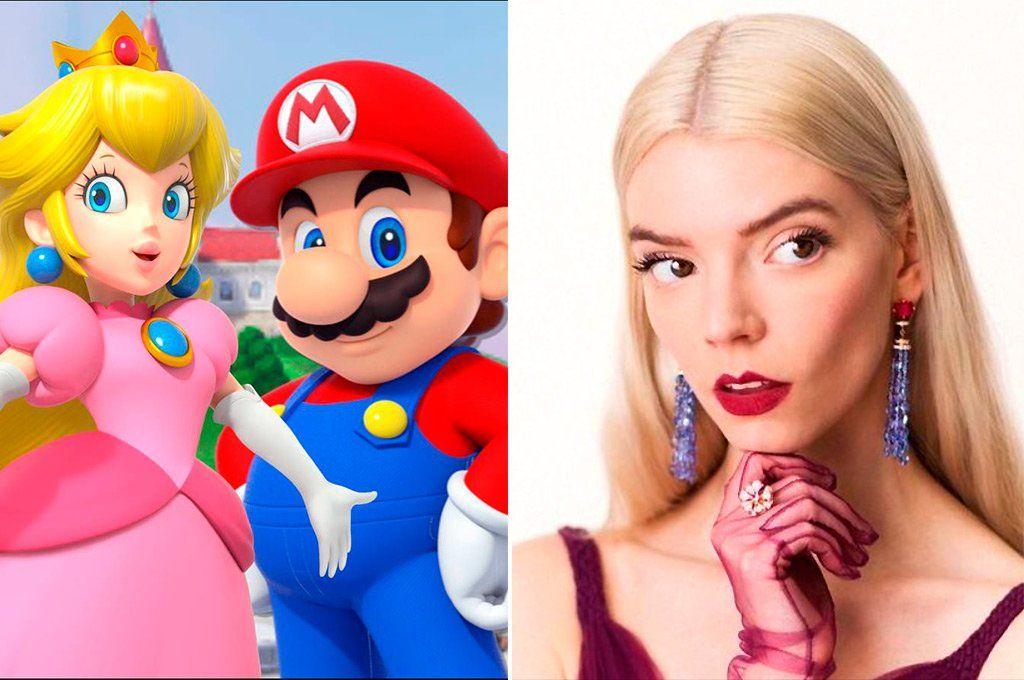 Anya Taylor-Joy le pondrá su voz e interpretación a la princesa Peach.