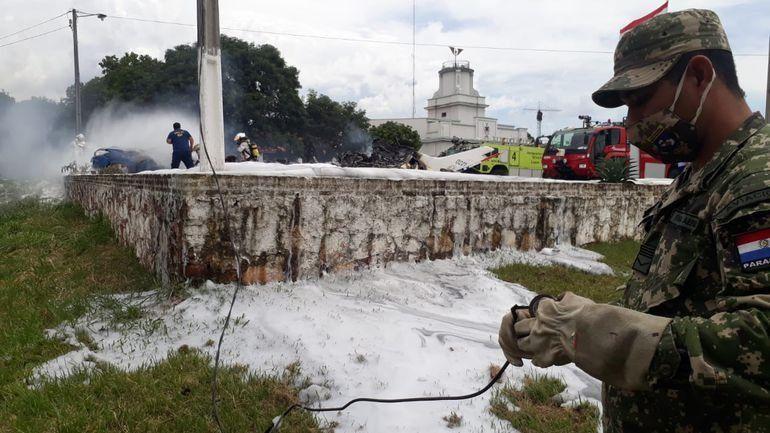 Paraguay: accidente con una avioneta.