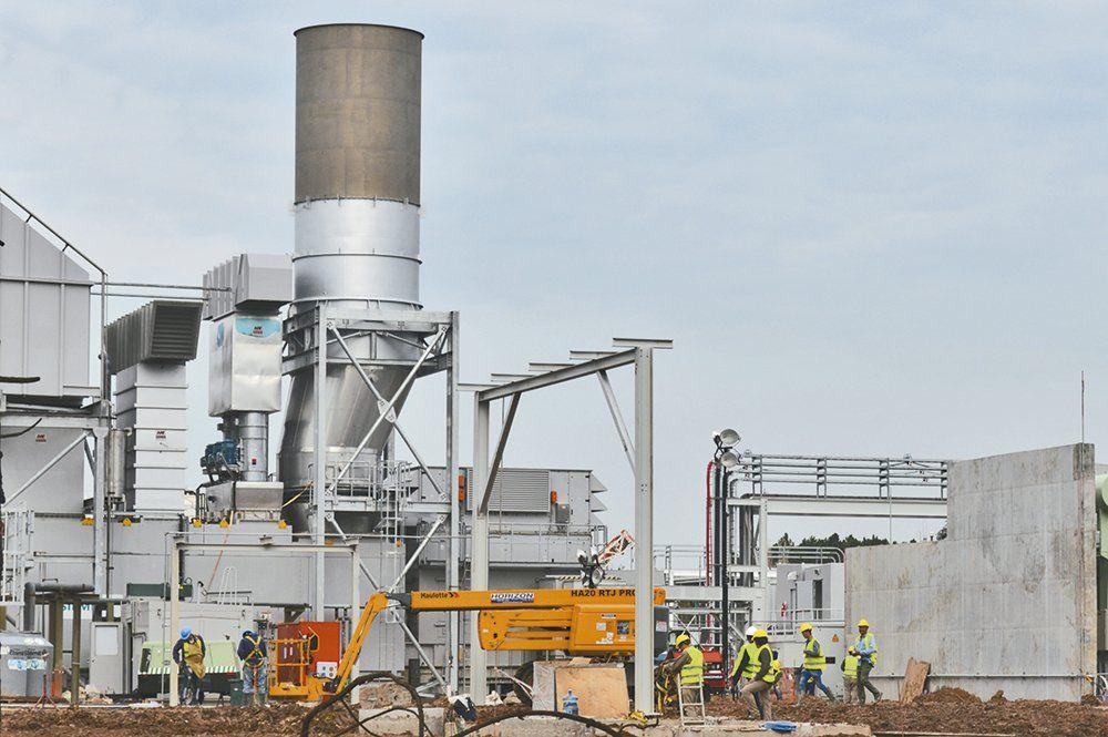 Planta termoeléctrica de Araucaria Energy