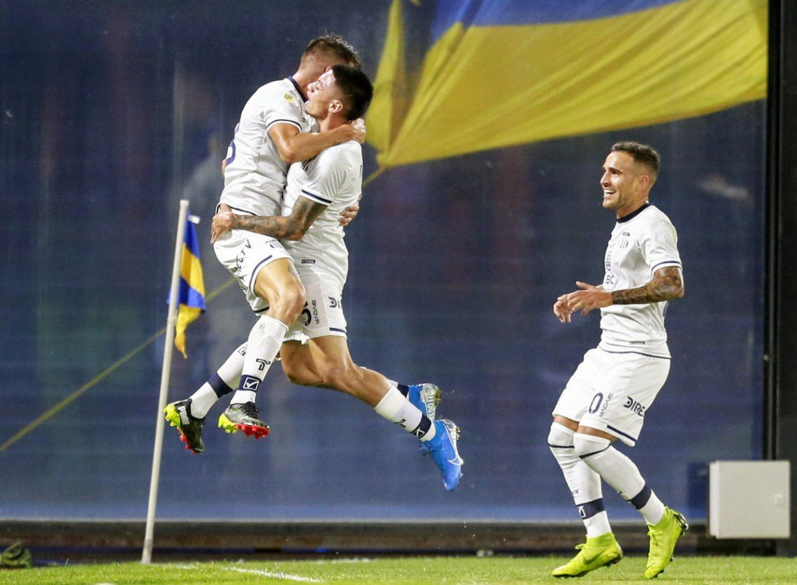 Boca pierde 1-0 ante Talleres.