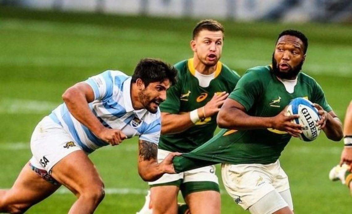 Los Pumas cayeron por segundo fin de semana consecutivo frente a Sudáfrica