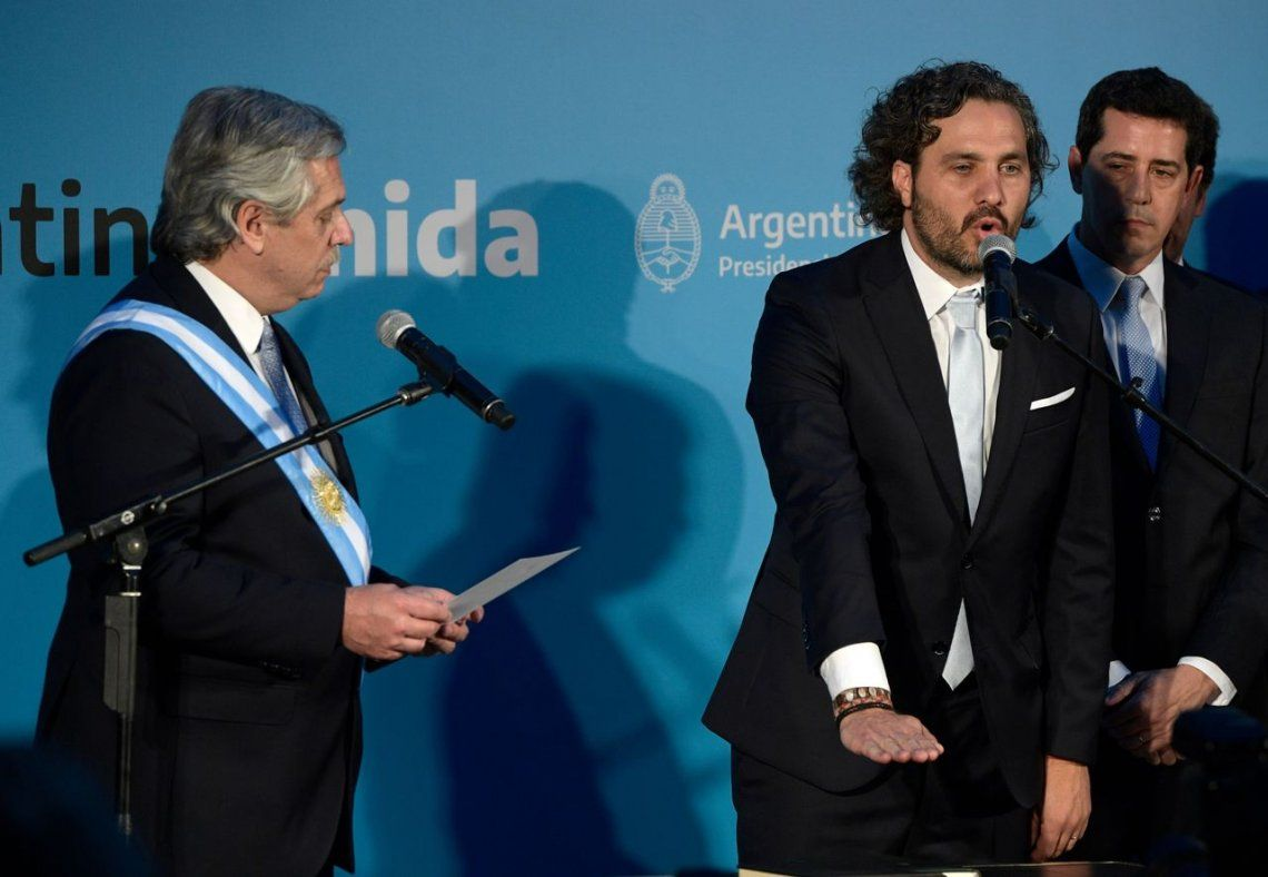 Juró el gabinete de Alberto Fernández