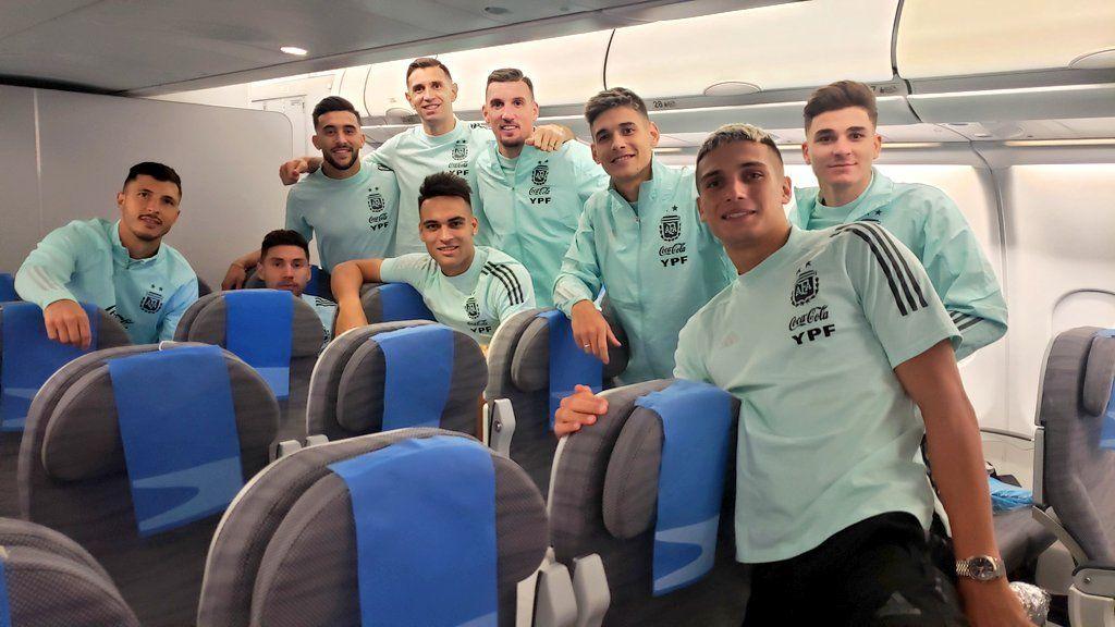 La Selección Argentina volvió al país tras el escándalo en Brasil