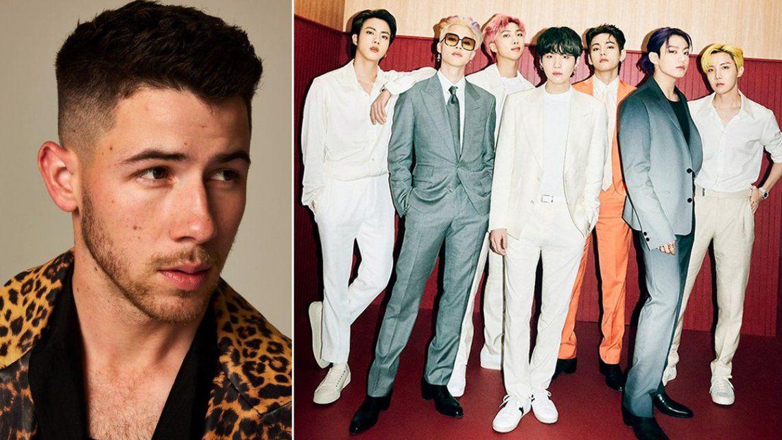Los Jonas Brothers y BTS participarán de la ceremonia