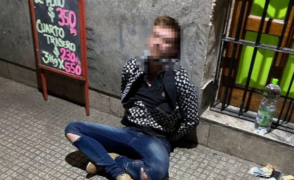 El hombre fue detenido en el barrio de Montserrat tras una intensa investigación.