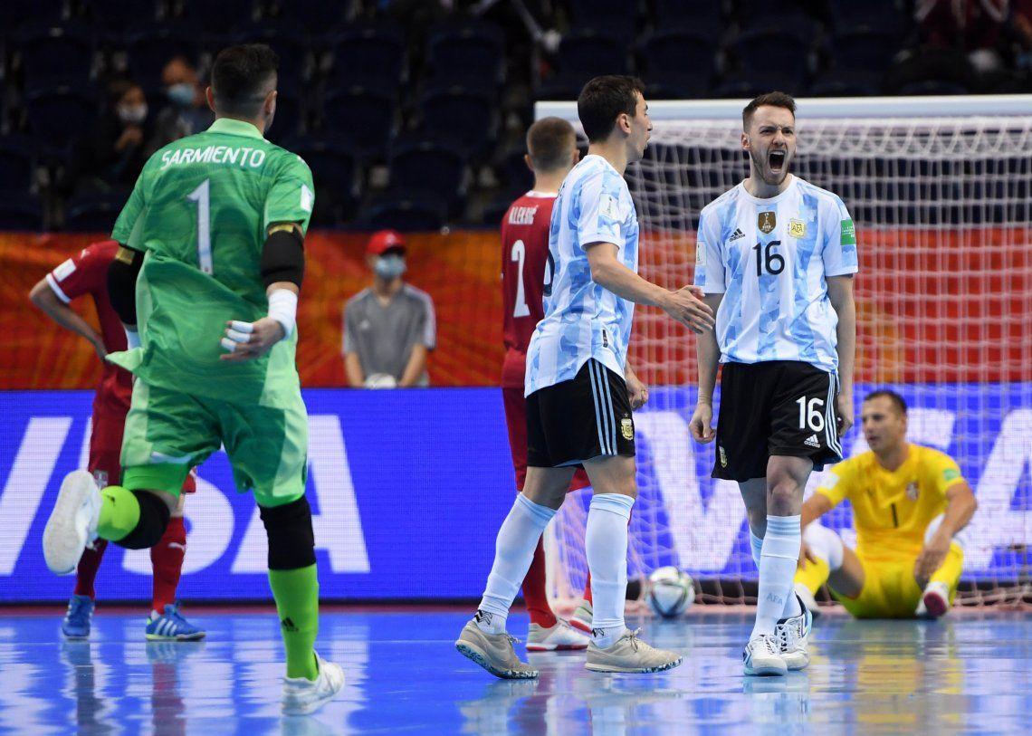 Argentina venció a Serbia y sigue en carrera en Lituania