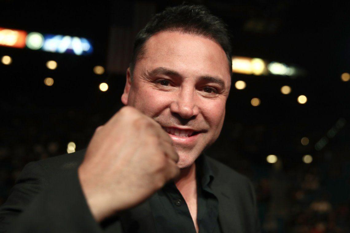 Óscar de la Hoya peleará ante un exUFC pero quiere en el ring a Floyd Mayweather y al Canelo