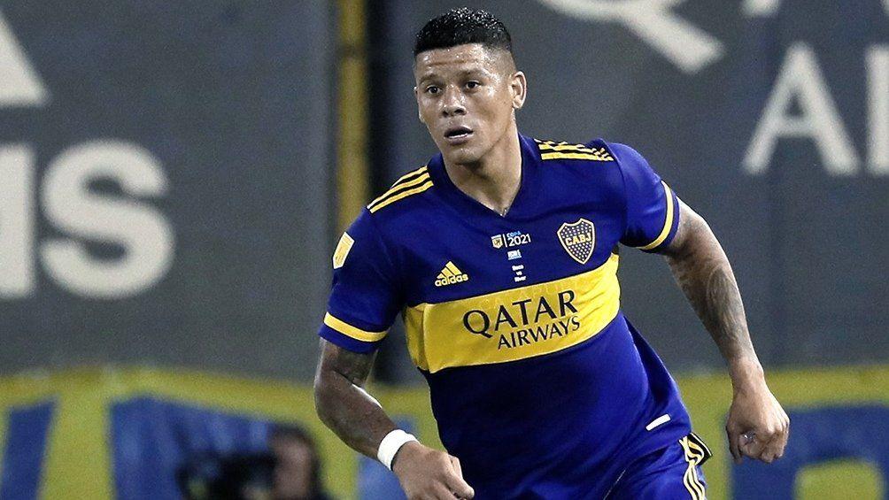 Marcos Rojo le da solidez al fondo de Boca Juniors