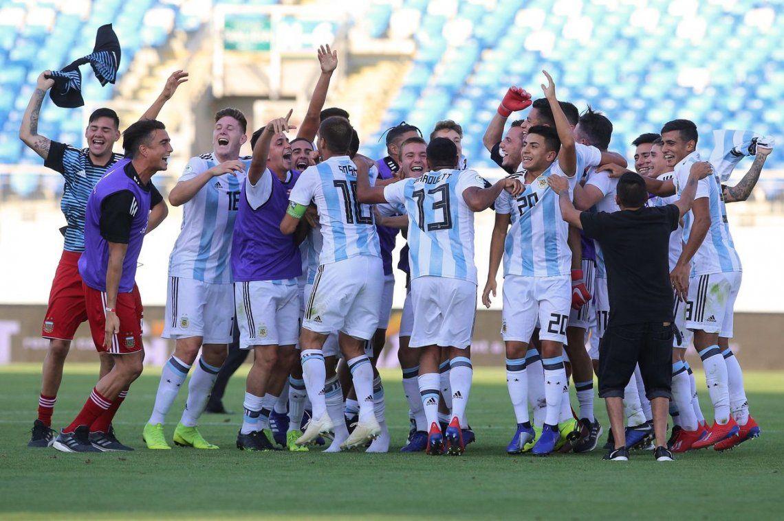 Argentina venció a Uruguay en el hexagonal y consiguió un lugar en el Mundial de Polonia