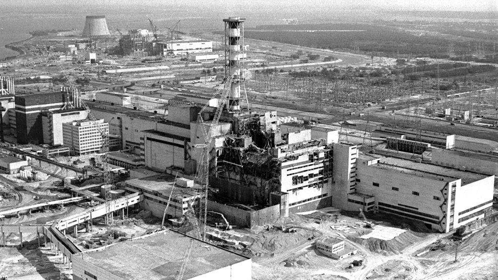 El accidente se inició en el reactor número 4 de Chernobyl, vecino a la ciudad de Pripiat, 110 kilómetros al norte de Kiev, capital de Ucrania.
