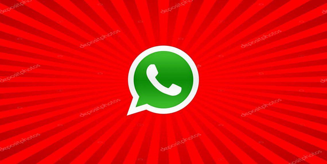 WhatsApp te permite usar letras en rojo: el paso a paso para hacerlo