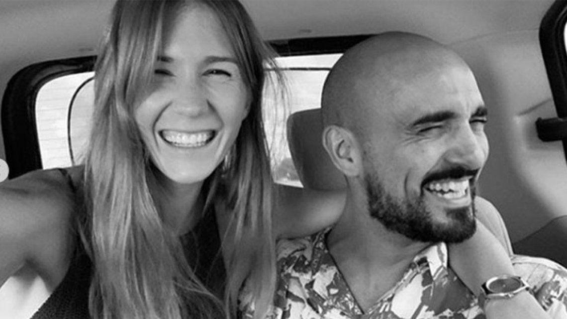 Abel Pintos se casó con Mora Calabrese en Chaco.