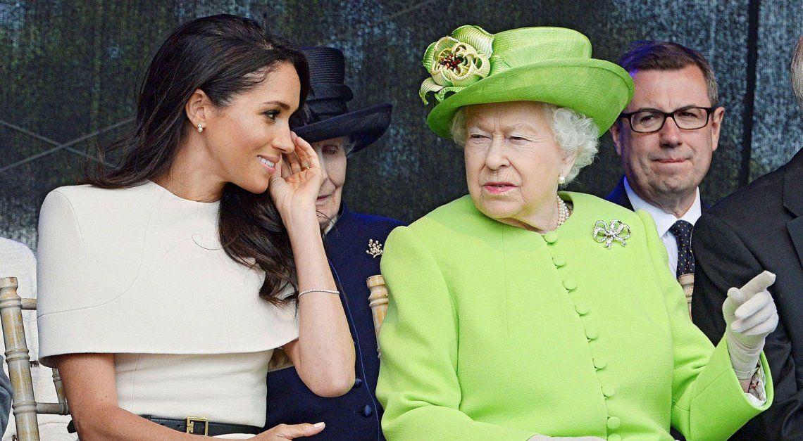 Isabel II compartió muchos actos oficiales con Meghan Markle.