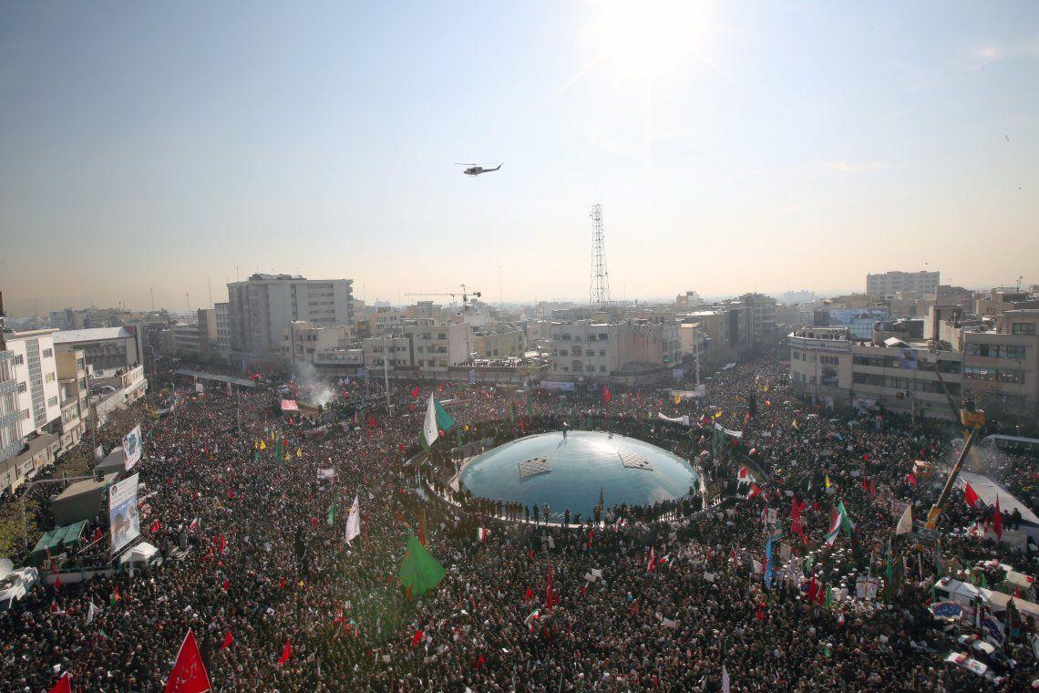 Irán: estampida dejó 35 muertos durante el funeral de Soleimani