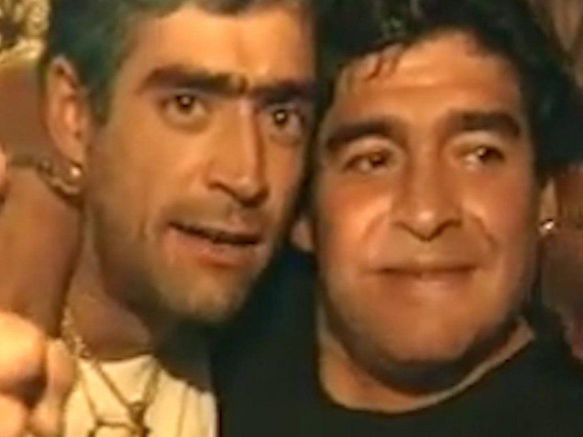 Maradona y Rodrigo