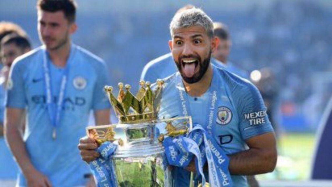El Kun Agüero se despide del Manchester City