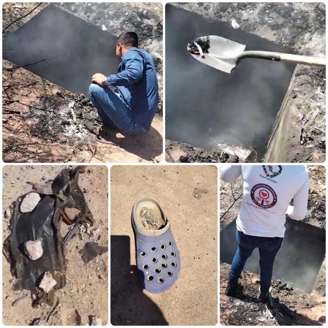 México: descubren fosa clandestina con restos ardiendo   México, mujeres, fosa  clandestina