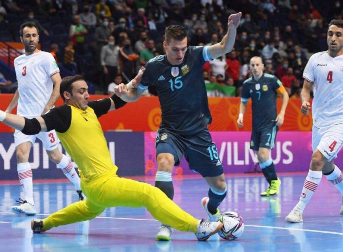 Argentina se mide con Paraguay en el Mundial de Futsal
