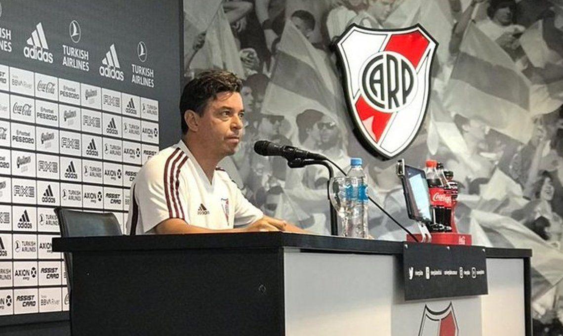 Gallardo bajó un cambio y mañana arranca de nuevo para poner en marcha el proyecto Superliga