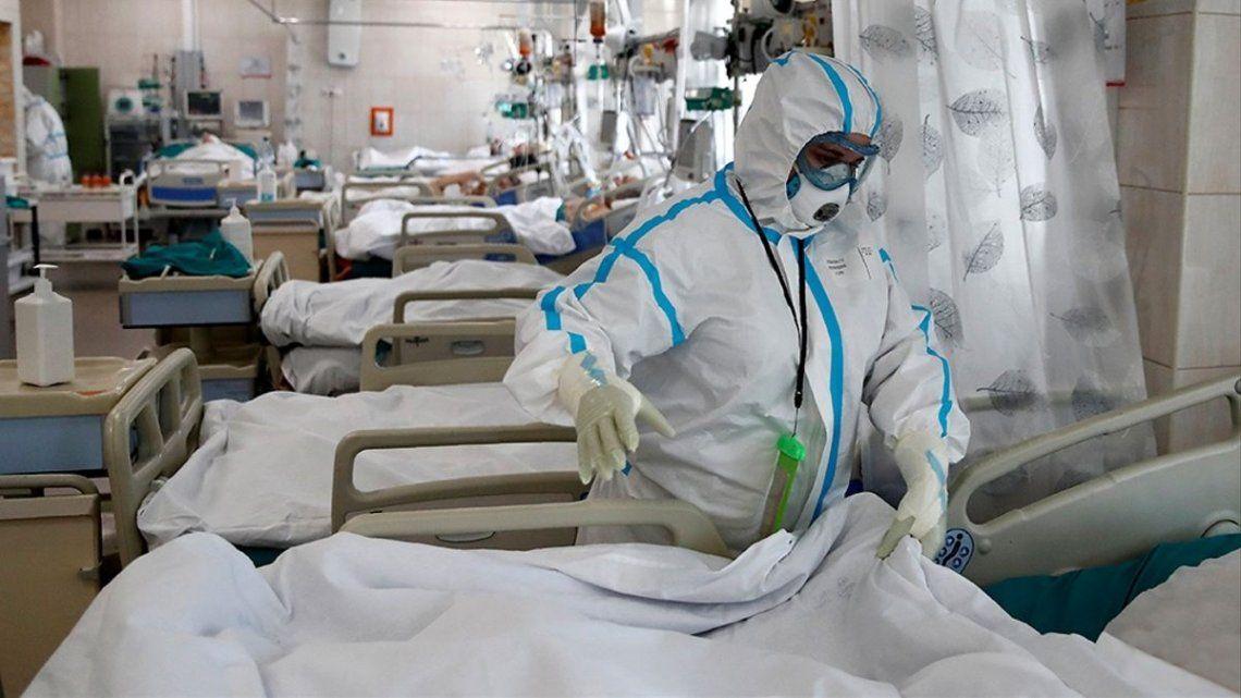 La Argentina se mantiene como el octavo país con mayor número de contagios de coronavirus.