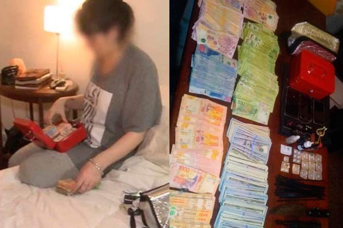 Detuvieron a una viuda negra en Parque Patricios: le encontraron 4 millones de pesos, viagra y droga