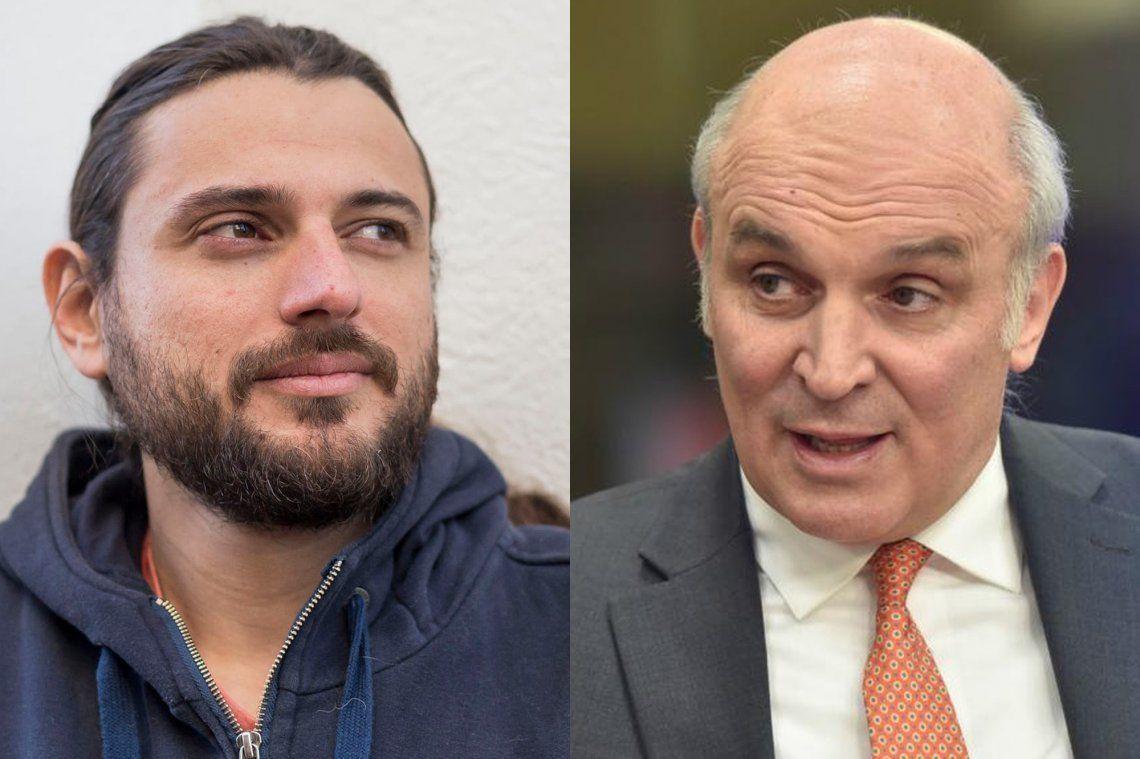 Fuerte cruce entre Juan Grabois y José Luis Espert